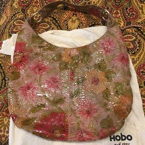 Hobo International Gabor Pink Peony Hobo Bag
